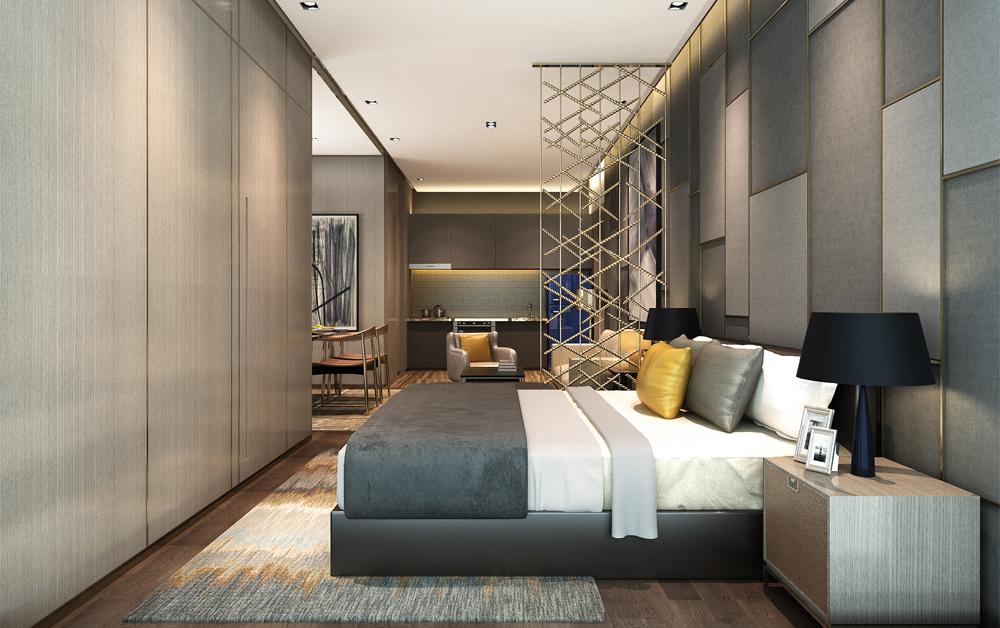 杭州黄龙御玺公寓,中国.杭州,2017